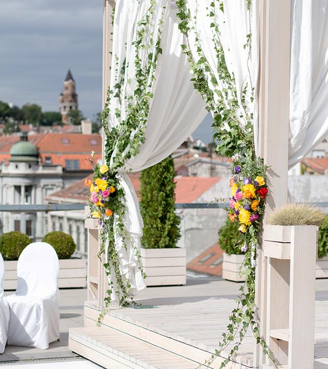 oltar za vencanje