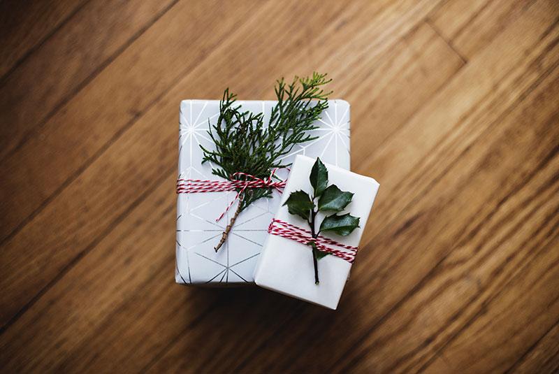 novogodisnji pokloni - pakovanje